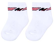 Cute Walk Ankle Length Socks - White