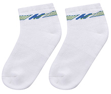 Cute Walk Ankle Length Socks- White
