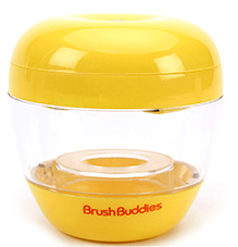 Brush Buddies Baby Care Pacifier And Nipple UV Sanitizer Sterilizer - Yellow