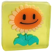 EZ Life Kids Glycerine Shining Sunflower Bar Soap - 100 gms