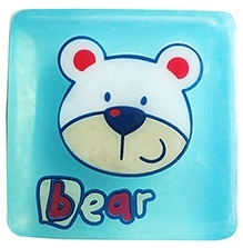 EZ Life Kids Glycerine Buzzing Bear Bar Soap - 100 gms