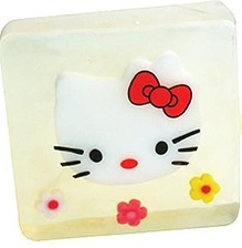 EZ Life Kids Glycerine Hello Kitty Bar Soap - 100 gms