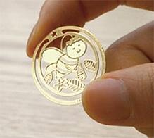 EZ Life Bookmark - Honey Bee