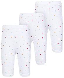 Zero Star Printed Leggings - Set Of 3
