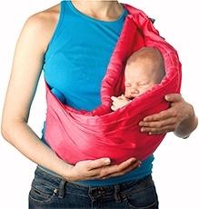 Nahshon Baby Hug Bag - French Rose