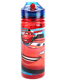 Disney Pixar Cars Sipper Water Bottle Red And Blue - 440 ml