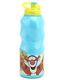 Winnie The Pooh Sipper Bottle Blue And Yellow - 400 Ml - 400 Ml