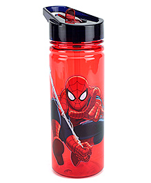 Spider Man Sipper Bottle Red And Black - 440 ml