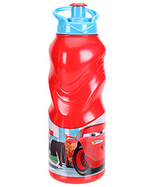 Disney Cars Water Bottle Red - 400 ml