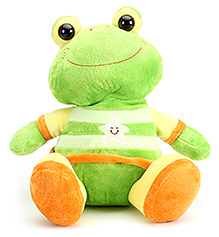 Simba ABC Plush Animal Frog - Green