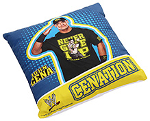John Square Shape Cushion - Cenation Print