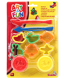 Art & Fun Plastic Dough Set Assorted