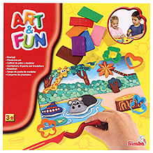 Art & Fun Color Modelling Clay Fun Set