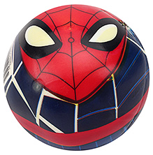 John Play Ball Spiderman Print Deflated - 5 Inches