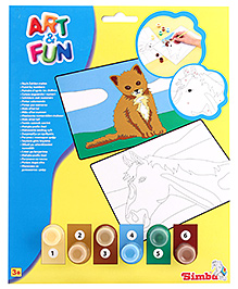 Simba Art and Fun Painting By Numbers