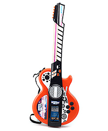 Simba My Music World I-Light Guitar - Orange And Black