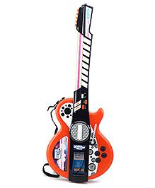 Simba My Music World I-Light Guitar - Orange And Black - 66 x 26 cm