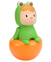Smoby Roly Poly Toy - Orange And Green - 10 X 10 X 18 Cm