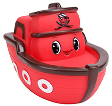 Simba ABC Bathing Boat - Red