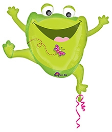 Wanna Party Leaping Frog XL - Green