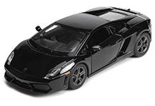 Maisto Metal Kruzerz Lamborghini Gallardo LP 560-4 - Black