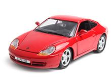 Maisto Metal Kruzerz 1997 Porsche 911 Carrera - Red
