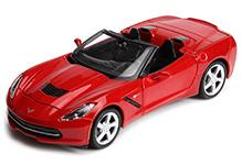 Maisto Metal Kruzerz Corvette Stingray Convertible - Red