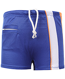 Veloz Swimming Trunk With Drawstring - Dark Blue