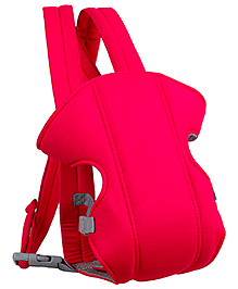 Fab N Funky Baby Carriers With Padded Shoulder Straps - Red