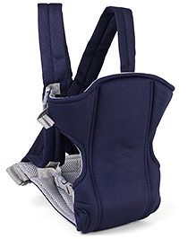 Fab N Funky Baby Carriers With Padded Shoulder Straps - Navy Blue