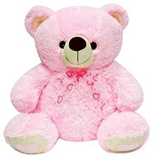 Soft Buddies Teddy Bear Soft Toy Pink - Big - 18 X 21 X 13 Inches