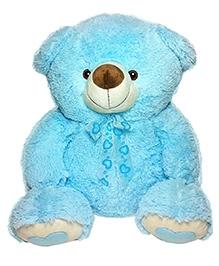 Soft Buddies Teddy Bear Soft Toy Blue Big - Height 53 Cm