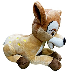 Soft Buddies Deer Soft Toy Brown - Big - 8.5 X 9.5 X 12 Inches