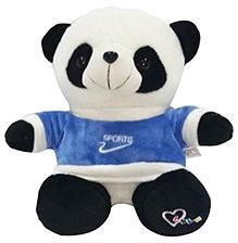 Soft Buddies Fighter Panda Soft Toy - White