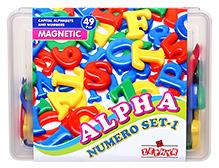 Zephyr Alpha Numero Set Magnetic Pieces