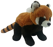 Soft Buddies Red Panda Soft Toy - Dark Brown