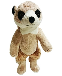 Soft Buddies Meerkat Soft Toy - Light Brown