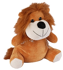 Soft Buddies Lion Soft Toy - Brown