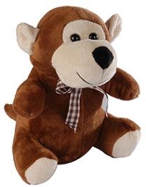Soft Buddies Monkey Soft Toy - Brown