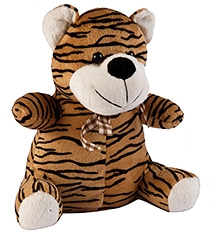 Soft Buddies Tiger Soft Toy - Brown