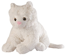 Soft Buddies Cat Soft Toy - White