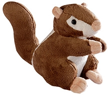 Soft Buddies Squirrel Soft Toy - Brown