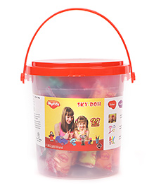 Mitashi Sky Doh With 24 Color Play Dough - 480 gm