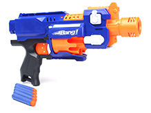 Mitashi Strikers Seagull Gun With Darts - 6 Years+
