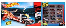 Hotwheels Lane Elimination Race Cars Set - 18 Cars