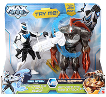 Max Steel Battle Pack Max Steel Versus Metal Elementor - Action Figure