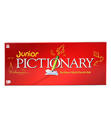 Mattle Toys Junior Pictionary Board Game - English