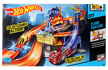 Hotwheels Color Change Action City Flame Fighters