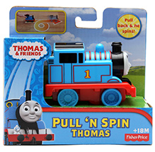 Thomas & Friend Pull n Spin Assortment
