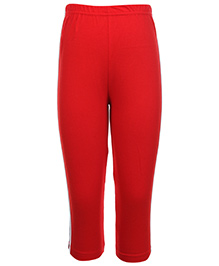 Taeko Track Pant With Side Stripe And Elasticated Waist - Red